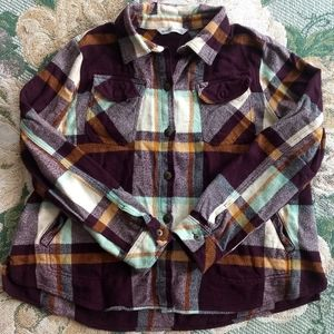 Plaid Woolrich Jacket